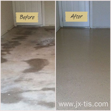 Decorative Epoxy Flake for Church Floors